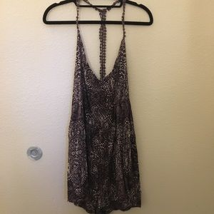 Urban Outfitters I purple paisley romper